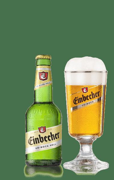 Birra e bicchiere Einbecker