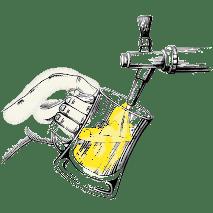 Disegno spillatura della birra